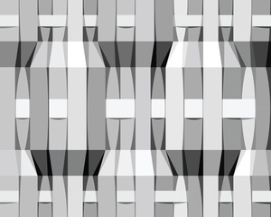 Monochrome stripes seamless pattern.