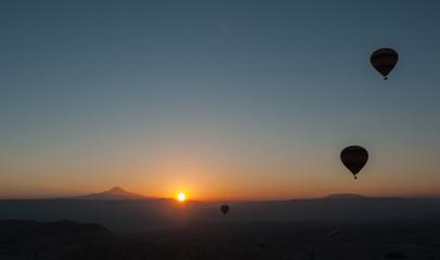 Amanece en Capadocia