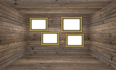 Blank Wooden Gallery