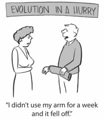 Evolution in a Hurry
