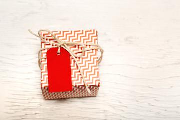 Small handmade gift boxes