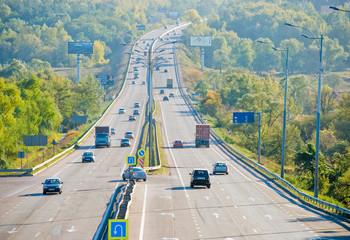 Highway E-95. St. Petersburg-Odessa