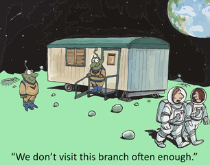 """We don't visit this branch often enough."""