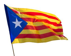 Flying Catalonia  flag