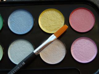 Water color nacreous paints