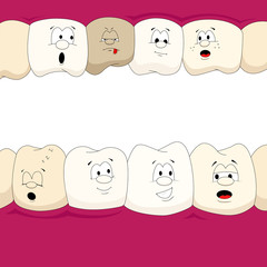 Dental characters