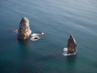 Stones on the seashore