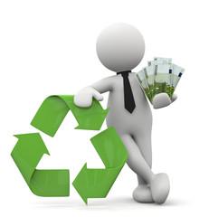 omino bianco reciclo e risparmio