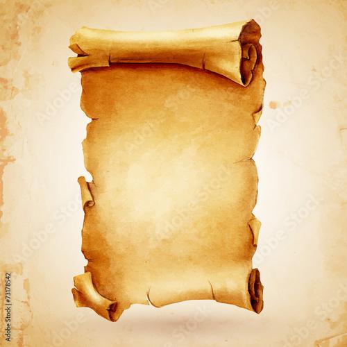parchment aged - 73178542