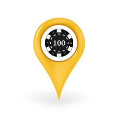 Poker Chip Location