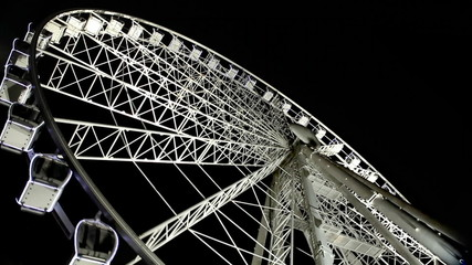 Budapest Eye - famous Ferris wheel in the night