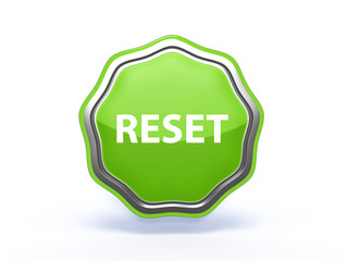 reset star icon on white background