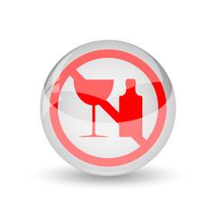 No alcohol icon