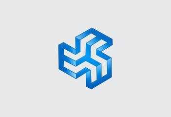 business construction business design logo