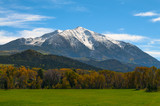 Mount Sopris Elk Mountains Colorado - Fall colors
