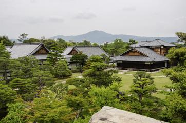Nijojo Castle in Kyoto, Japan