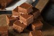 Homemade Dark Chocolate Fudge - 73185912