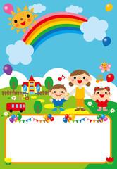 園児 動物 ポスター