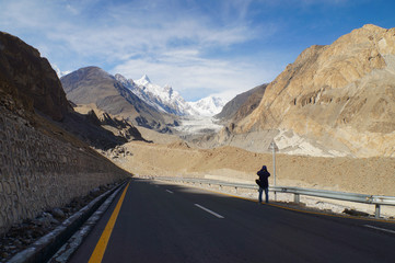 Road to Pasu Glacier , Northern area of Pakistan