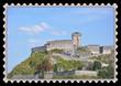 Timbre château fort de Lourdes