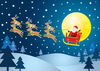 Santa's Sleigh, Reindeer