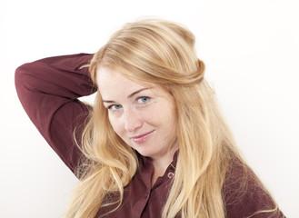 Beautiful Young Woman Portrait.