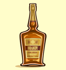 Brandy in the bottle