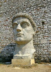 Berat, A giant bust of citadel, Albania, UNESCO World Heritage