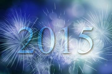 feux d'artifices et effet bokeh 2015