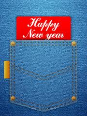 happy new year denim