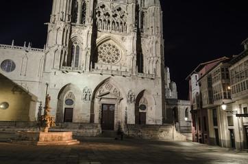 Burgos Gothic cathedral
