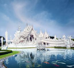 Chiang Rai Thailand, Wat Rong Khun white temple
