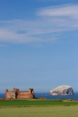 paesaggio marino north berwick bass rock scozia