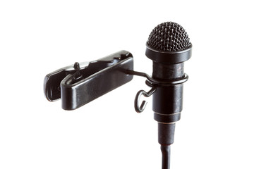 Tie-Clip Microphone