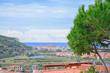Panoramic view of Bosa