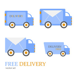 free delivery vector set
