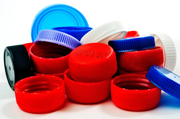 Recovery caps of plastic