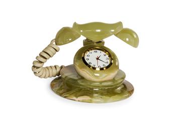 souvenir clock telephone