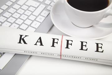 kaffeezeit im büro