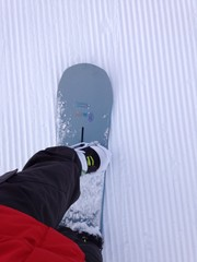 snowboard from above