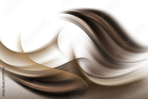 mata magnetyczna brązowa abstrakcja