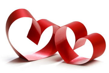 Two linked hearts