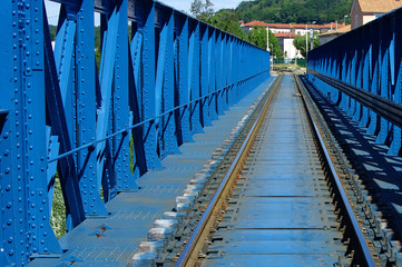 Pont bleu