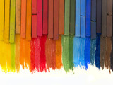 Fototapety colorful crayons