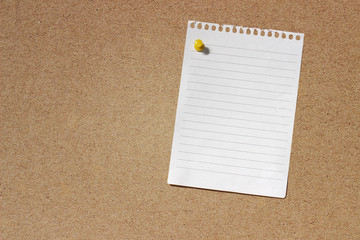 Blank Note Paper Template