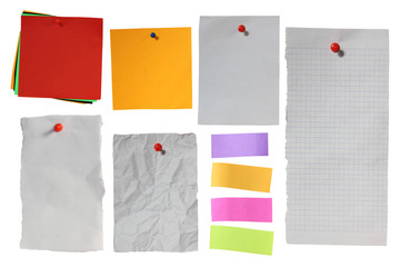 Blank Note Papers Template