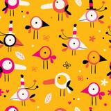 Birds pattern - 73203344