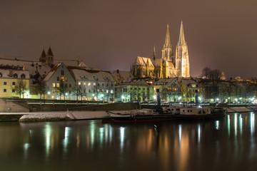 Regensburg in Winter