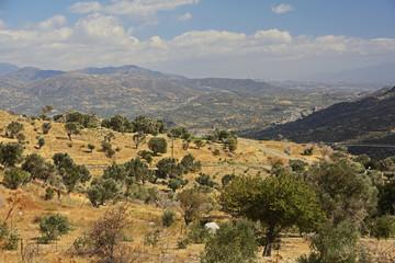 Kreta, Landschaft mit Ida-Gebirge
