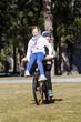 Kinder am Fahrrad
